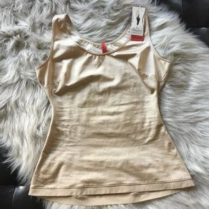 Spanx Scoop Neck Camisole Size Large Nude NWT